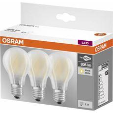 Osram żarówka LED X3 E27 7,2W FILAME.MAT