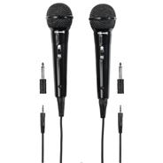 Thomson M135 Mikrofon dynamiczny karaoke 3m, zestaw 2 szt