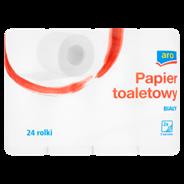 Aro Papier toaletowy 2 warstwowy biały 24 rolki