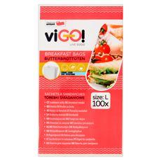 Quickpack viGO! Torebki śniadaniowe 100 sztuk