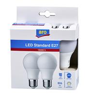 Aro żarówka LED E27 9,5W 2700K 2 sztuki
