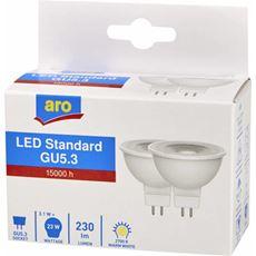Aro żarówka LED Reflector GU5.3 3.1W 2700K 2 sztuki