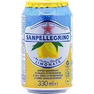Sanpellegrino Limonata Napój gazowany o smaku cytrynowym 6 x 330 ml