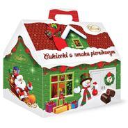 Vobro Świąteczny domek, cukierki nadziewane, 170 g