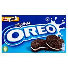 Oreo Original Ciastka kakaowe z nadzieniem o smaku waniliowym 176 g 3 sztuki
