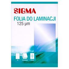 Sigma Folia do laminacji 125 mic A4 100 sztuk