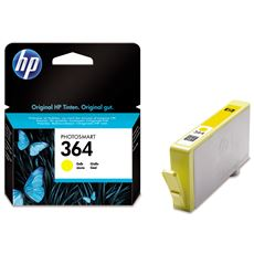 HP oryginalny tusz CB320EE, HP 364, żółty