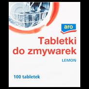 Aro Lemon Tabletki do zmywarek 1,8 kg (100 sztuk)