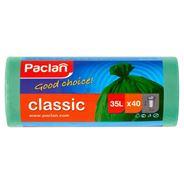 Paclan classic Worki na śmieci zielone 35 l 40 sztuk