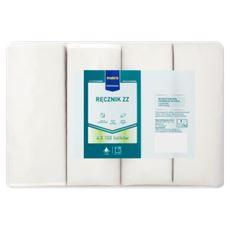 Makro Professional Ręcznik ZZ biały 2-warstwowy 4 x 150 listków listków