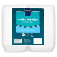 Makro Professional Hamburgerbox podwójny 50 sztuk
