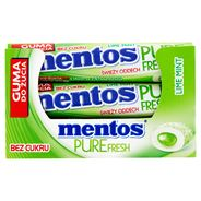 Mentos Pure Fresh Lime Mint Guma do żucia bez cukru 24 x 15,5 g