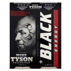 Black Energy Drink Gazowany napój energetyzujący 250 ml 4 sztuki