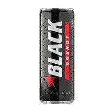 Black Energy Gazowany napój energetyzujący 250 ml 24 sztuki