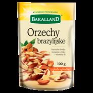 Bakalland Orzechy brazylijskie 100 g