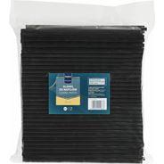 Makro Professional Słomki czarne proste 24 cm 250 sztuk
