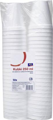 Aro Kubki do zimnych i gorących napojów 50x250 ml