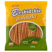 Aksam Beskidzkie Paluszki o smaku ser cebulka 220 g