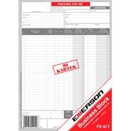 Emerson Faktura VAT  2 kopie 80 kartek A4