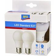 Aro żarówka LED STD E27 5,3W 2700K 2 sztuki