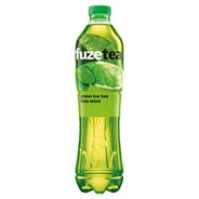 FuzeTea Napój o smaku limonkowo-miętowym z ekstraktem z zielonej herbaty 1,5 l 6 sztuk