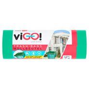viGO! Worki na śmieci do segregacji zielone 120 l 7/8 sztuk