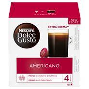 Nescafé Dolce Gusto Americano Kawa w kapsułkach 160 g (16 x 10 g)