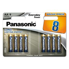 Baterie Alkaliczne Panasonic Everyday Power. Typ AA (LR6)