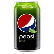 Pepsi Lime Napój gazowany 330 ml 24 sztuki