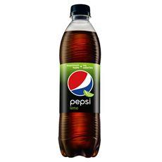 Pepsi Lime Napój gazowany 500 ml 12 sztuk
