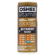 Oshee Vitamin Cocktail Suplement diety napój gazowany o smaku guavy-pomarańczy 250 ml