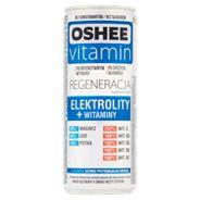 Oshee Vitamin Regeneracja Suplement diety napój gazowany o smaku mięty-cytryny 250 ml