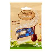 Asortyment jajeczek Lindor z czekolady mlecznej, deserowej i białej