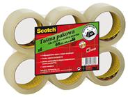 Scotch Taśma pakowa akrylowa przezroczysta 48 mm x 66 m