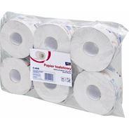 Aro Papier toaletowy makulaturowy bielony, 6 rolek