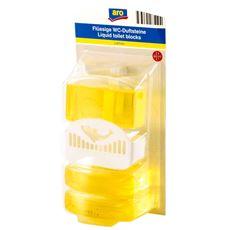 ARO Zawieszka z płynem do WC lemon 50 ml 3 sztuki