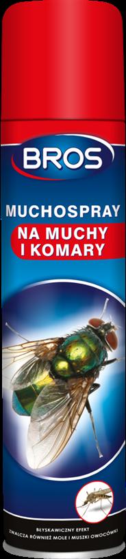 Bros Muchospray na muchy i komary 750 ml