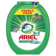 Ariel Mountain Spring 3 w 1 Kapsułki do prania, 80prań