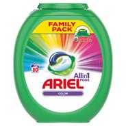 Ariel Color 3 w 1 Kapsułki do prania, 80 prań