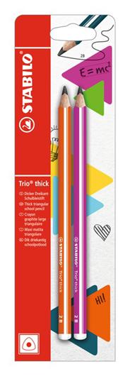 STABILO ołówki Trio Trick HB 2szt.