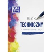 Oxford Blok techniczny A3 10 kartek
