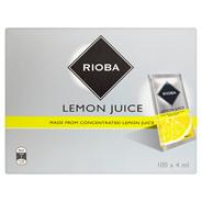 Rioba Sok cytrynowy 400 ml (100 x 4 ml)