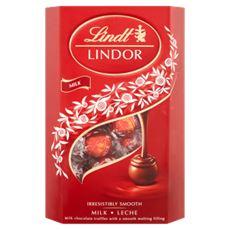 Lindt Lindor Pralinki z czekolady mlecznej z nadzieniem 337 g