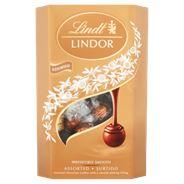 Lindt Lindor Pralinki z czekolady mlecznej gorzkiej i białej z nadzieniem 337 g