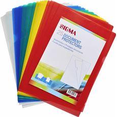 Sigma ofertówki A4 kolor, 25 sztuk