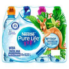 Nestlé Pure Life Niegazowana woda źródlana 8 x 0,33 l