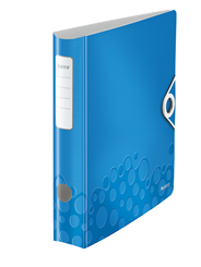 Segregator Leitz 180° Active WOW Metaliczny niebieski