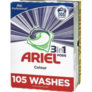 Ariel kapsułki piorące, 105 szt