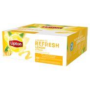 Lipton Herbata czarna aromatyzowana ze skórką cytryny 160 g (100 x 1,6 g)