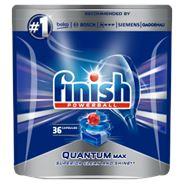 Finish Quantum Max Regular Kapsułki do mycia naczyń w zmywarce 558 g (36 sztuk)
